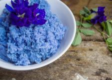 Itt a legújabb őrület: a kék rizs