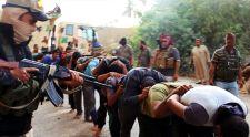 Tömegével gyilkolják az elfogott iraki katonákat az ILIÁ harcosai