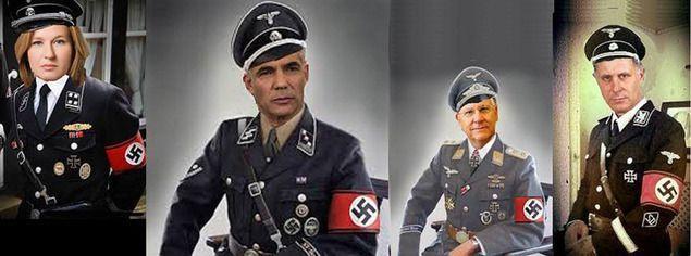 SS-egyenruhába öltöztették Ruvi Rivlin államelnököt és más vezető izraeli politikusokat