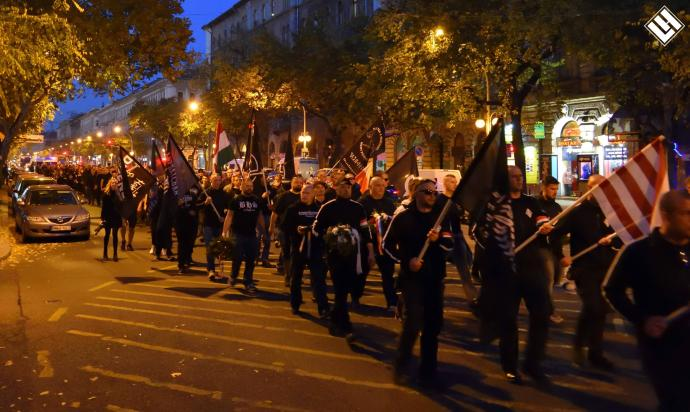 A Légió Hungária közlemény az október 23-i események kapcsán