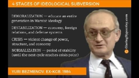 A végén a hasznos idiótákat is falhoz állítják – ex-KGB-s a felforgatás módszertanáról