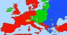Folyamatban Európa három felé való szakadása