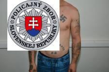 Bevásárlás közben fogtak el egy horogkeresztes tetoválásokat viselő férfit Kassán