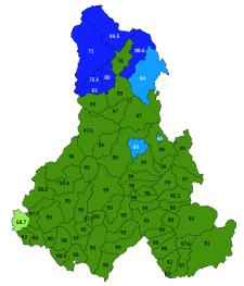 Autonómiát kaphat a székelyföldi Hargita megye román többségű északi része
