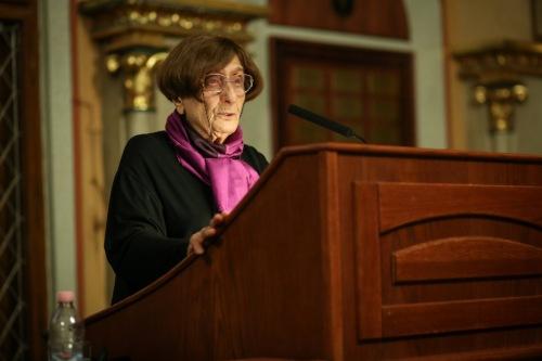 Egy katolikus a migrációról – Dávid Katalin művészettörténész előadása a Pázmányon