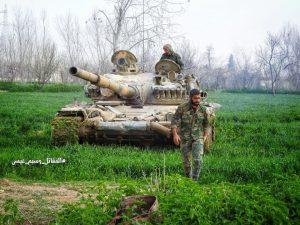 A Szíriai Arab Hadsereg gyakorlatilag három részre vágta a kelet-gouthai katlant (képek, videó)