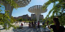 Napelemes fát ültettek a Millenárison