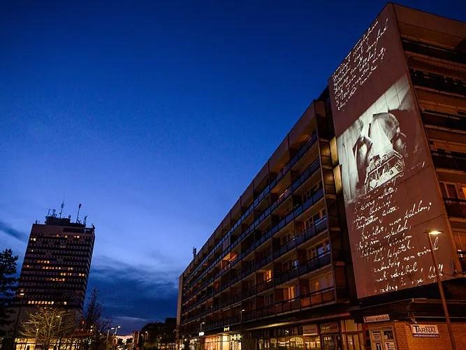 Európa Kulturális Fővárosa – Videoinstalláció vetítése Veszprémben