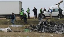 Holland szakemberek újabb földi maradványokat találtak az MH17-es lezuhanása helyszínén