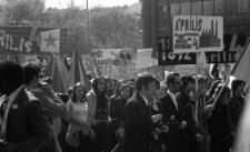 Egy eltüntetett tüntetés