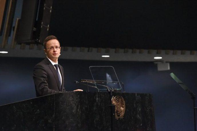 Lemondásra szólította fel Szijjártó Péter az ENSZ emberi jogi főbiztosát