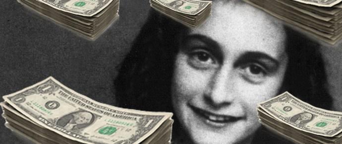 Nem akarják, hogy ingyen lehessen elolvasni Anne Frank naplóját