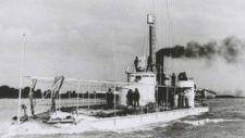 Komáromba érkezik az Osztrák-Magyart Monarchiából megmaradt egyetlen hadihajó, a Lajta