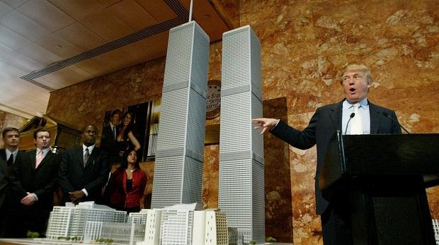 """Trump """"azt hiszi, tudja"""", kik voltak a 9/11 mögött"""