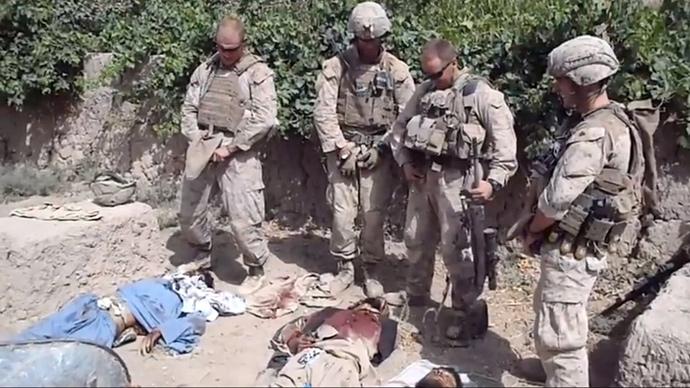 USA: Megölték az afgánok holttestét levizelő katonát (Videóval)