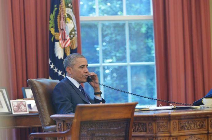 Obama rácsörgött Hszi Csin-pingre