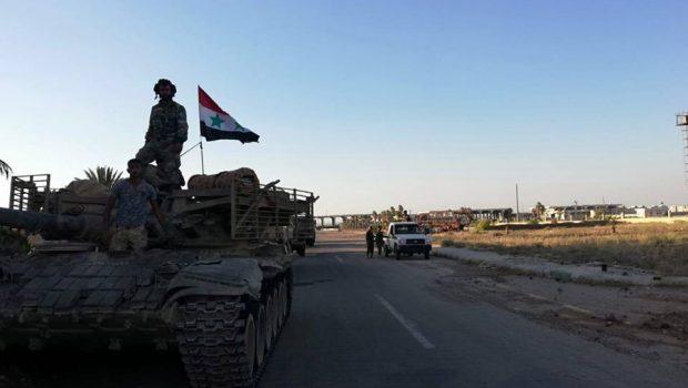 A szíriai hadsereg felszabadította naszibi határátkelőhelyet a jordán határnál (képek, videó)