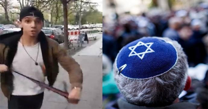 """A """"neonácikra"""" kenik a migránsok antiszemita támadásait a német zsidók"""