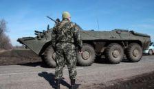 Megindultak a páncélosok Kelet-Ukrajna felé