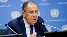 """Véres provokációk"""" elkövetésével vádolta Washingtont az orosz külügyminiszter"""
