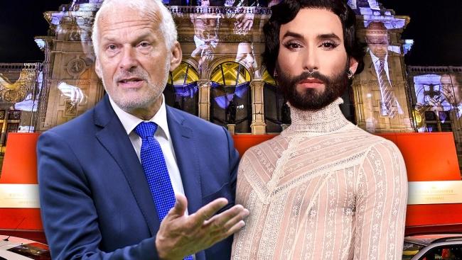 Bécsi elmebaj: Conchitával fog táncikálni egy osztrák miniszter az operabálban