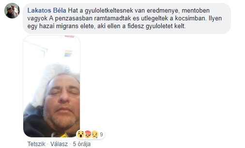 Ács torokelvágással fenyegetőző cigány expolgármesterét állítólag fideszes lapát formájában csapta arcon a valóság