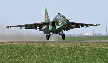 Luhanszkban a felkelők az ukrán Szu-25-t zsákmányolták