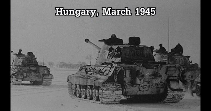 """A Leibstandarte SS-páncéloshadosztály magyarországi harcai a """"Frühlingserwachen"""" hadművelet alatt"""