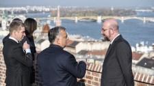 Kritikus uniós ügyekről tárgyalt Orbán Viktor Budapesten