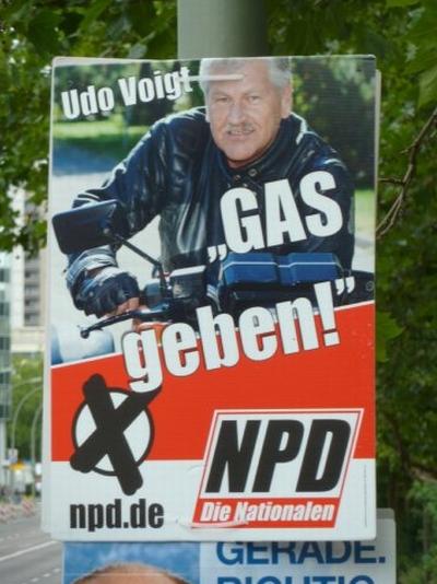 Gázt adhat az EP-ben a Német Nemzeti-demokrata Párt is