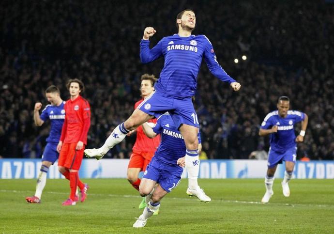 Újpest-mezben ment edzésre a Chelsea-sztár