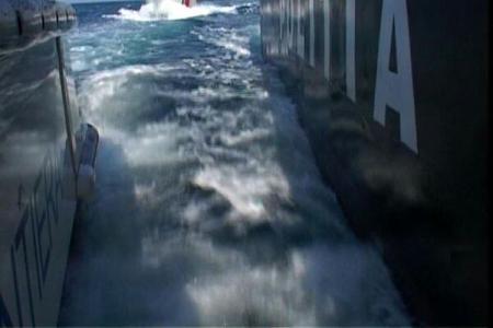 Leégett és elsüllyedt egy magyar folyami hajó a Duna-Fekete-tenger Csatornán