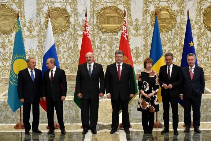 Ráfagyott a mosoly Putyin arcára Minszkben