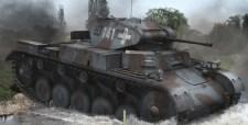 A Wehrmacht harcjárműveinek álcafestése