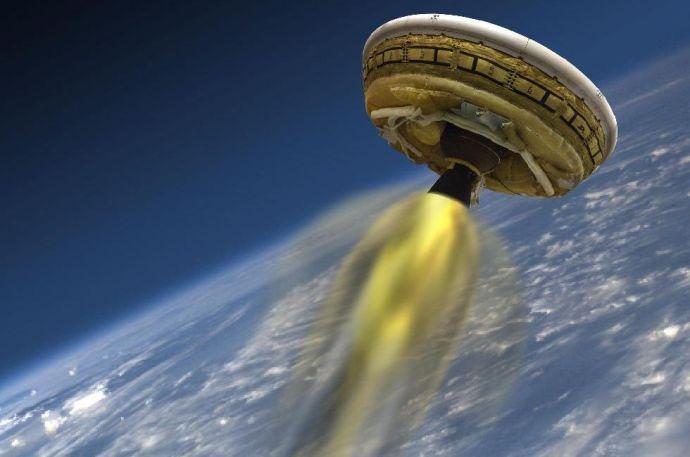 Repülő csészealj szállt le a Földre