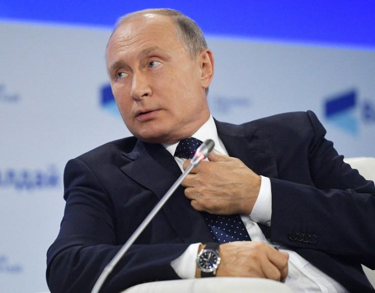 Putyin nem tartja fecsegésnek az ukrán NATO-tagságról szóló beszédet