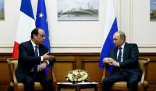 Hollande: Oroszország és Franciaország találnak megoldást az ukrán válságra
