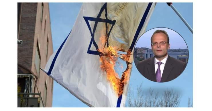 Izraeli zászlókat égettek Németországban