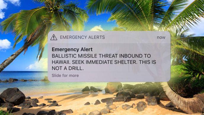 A Hawaii elleni rakétatámadást hazudó amerikai riasztás: exkluzív helyszíni beszámoló e blog olvasóinak