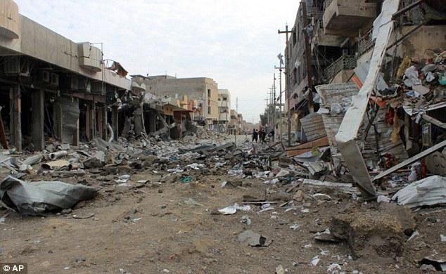 Ramádi nyolcvan százaléka romokban hever