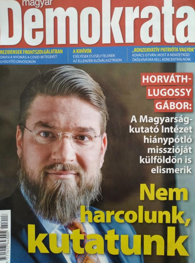 Horváth-Lugossy Gábor: Előtérben a hun-magyar kapcsolatok kutatása