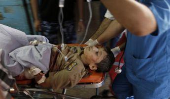 Izrael légicsapást mért egy ENSZ-iskolára