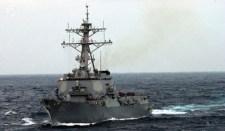 Amerikai hadihajók tartanak Ukrajna partjai felé