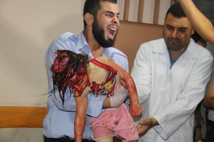 Izrael újabb vérfürdőt rendezett: Gázaváros keleti lakónegyedeiben ma hajnalban 14 halott és 154 sebesült (16+)