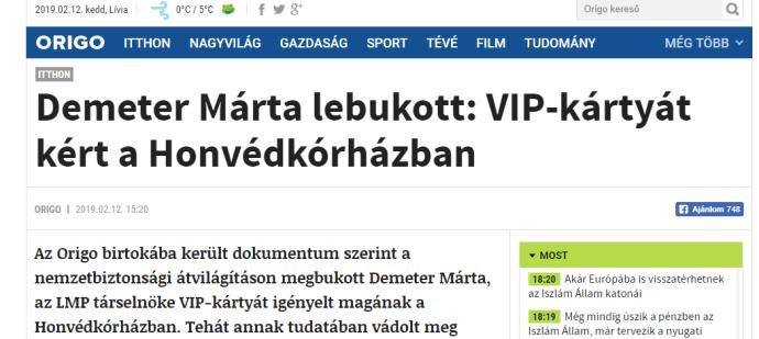 Beváltották a fenyegetést – a Fidesz Demeter Márta elhunyt édesanyját sem kíméli