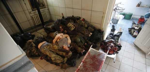 Több tucat csecsen zsoldos esett el Kelet-Ukrajnában