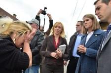 A számozott utcákban járt cigányokat ölelgetni az amerikai nagykövet – húsz percig bírta
