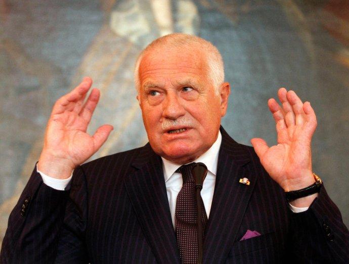 Václav Klaust nagyon aggasztja Emmanuel Macron megjelenése az EU-ban