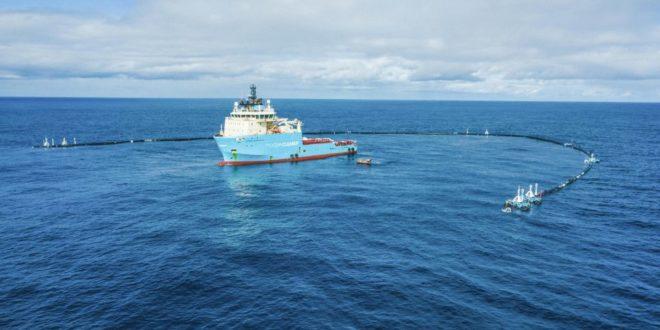 Működik az óceáni szemétszedő