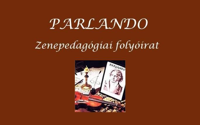 Megjelent a Parlando zenepedagógiai folyóirat 2020/5. száma
